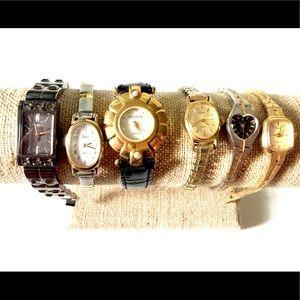 Watch Lot Vintage Joan Rivers timex fossil